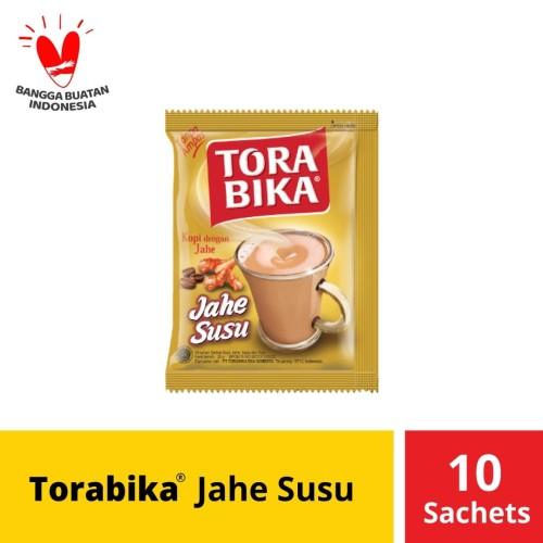 Foto Produk Torabika Jahe Susu Instant 10 Sachet @ 25 Gr dari Mayora Official Store