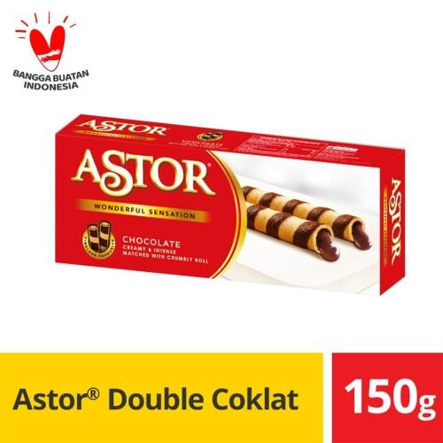 Foto Produk Astor Double Coklat @ 150 g dari Mayora Official Store