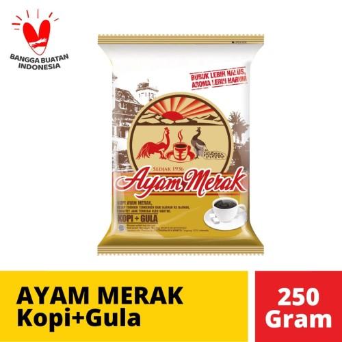 Foto Produk Ayam Merak Kopi+Gula 10 Sachet @ 25 Gr dari Mayora Official Store