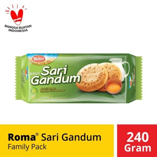 Foto Produk ROMA Sari Gandum Family Pack [240 g] dari Mayora Official Store