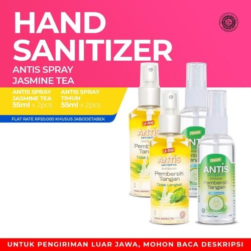 Foto Produk Antis Spray Jasmine Tea 2x55ml & Timun 2x55ml dari Enesis Official Store