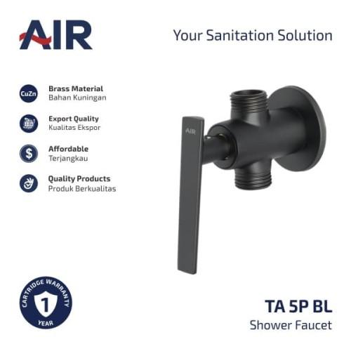 Foto Produk AIR Kran Shower Cabang Keran Air TA 5P BL dari AER Sanitary Indonesia