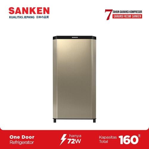 Foto Produk Sanken Kulkas Satu Pintu SK-V163A-CB JADETABEK ONLY dari Sanken Official Store