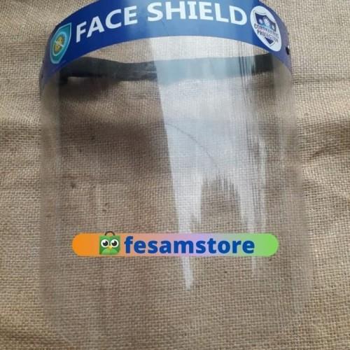 Foto Produk Face Shield Buka Tutup Ikat Kepala FaceShield Bisa Diatur Mika Tebal dari BursaIlmu
