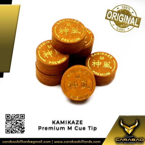 Foto Produk Cue Tip Kamikaze Premium M (Medium) dari Carabao Billiard Indo