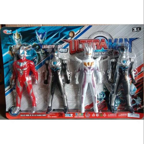 Foto Produk Mainan Robot Ultraman 4 pcs Murah No.Fr-1209 dari ciustoys