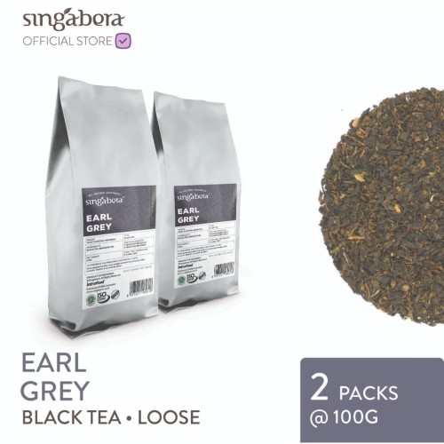 Foto Produk Singabera Earl Grey - Black Tea - 2 packs @ 100g (Loose tea) dari Singabera Indonesia