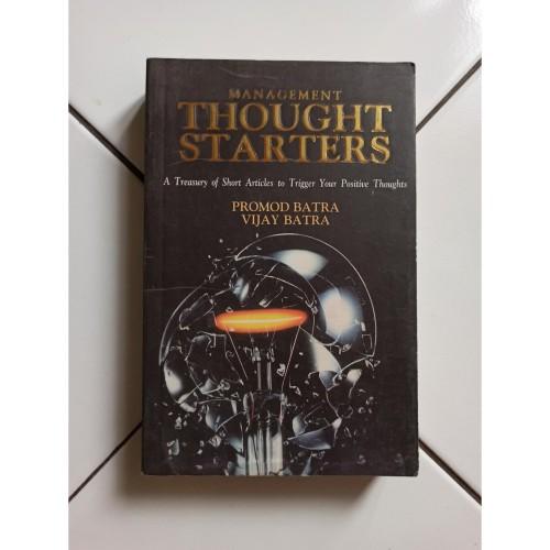 Foto Produk Buku Import Management Thought Starters by Promod Batra dari Toko Buku Bekas Aksiku