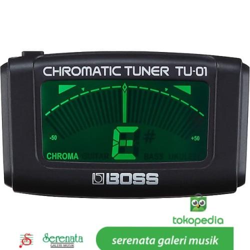 Foto Produk Boss TU 01 Chromatic Tuner / BossTU01 / Boss TU-01 dari Serenata Galeri Musik