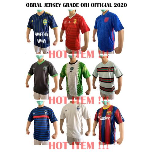 Foto Produk Obral jersey GO 100 3 pcs - SWEDIA AWAY, S dari INDO_JERSEY