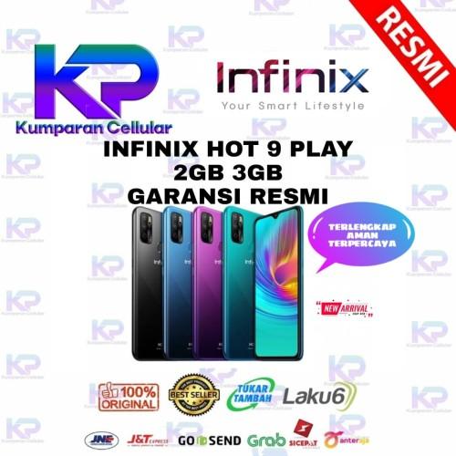 Foto Produk INFINIX HOT 9 PLAY 2GB 32GB GARANSI RESMI - Ungu dari Kumparan Cellular