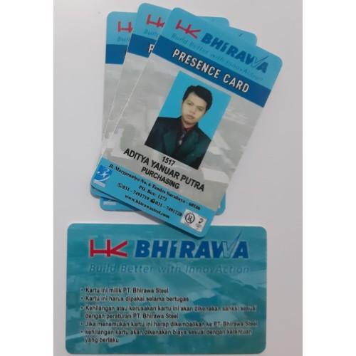 Foto Produk Kartu Karyawan RFID - Mifare 13,56 MHz dari Mutiara Kartu