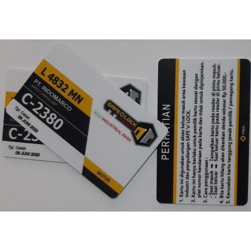 Foto Produk Kartu Parkir RFID - Mifare 13,56 MHz Promo dari Mutiara Kartu