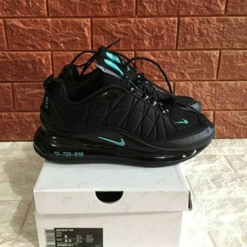 Foto Produk Sepatu Nike Air Max 720 818 Black Blue / Air MX 720 818 Premium dari Adhezta Sport