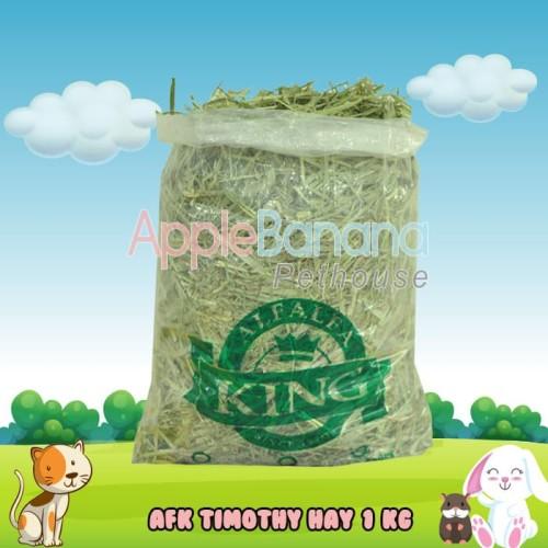"""Foto Produk TIMOTHY HAY Repack 1 kg """"Alfalfa King"""" Since 1970 dari Apple Banana Pethouse"""