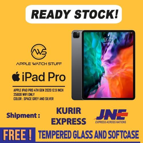 Foto Produk Apple iPad Pro 4th Gen 2020 12.9 Inch 256GB Wifi A12Z LiDaR Scanner - Space Grey dari applewatchstuff