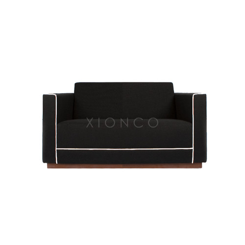 Foto Produk XIONCO - ASTRAL SERIES - Sofa Minimalis 2 Seat - Hitam dari xionco