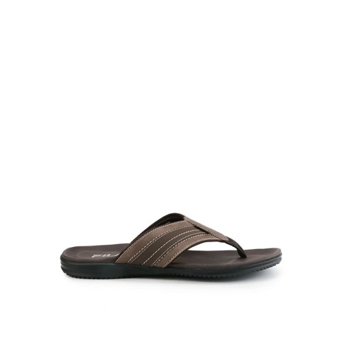 Foto Produk FILA Sandal Pria Hose - COFFEE/BLACK/TAN - 40 dari FILA Official Store