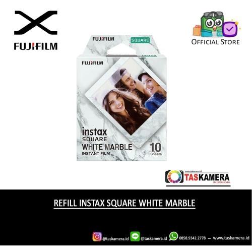 Foto Produk Refill Instax Square White Marble - Instax Square Film isi 10 Lembar dari taskamera-id