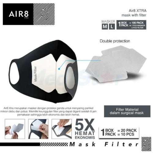 Foto Produk AIR8 XTRA MASK FILTER dari MediStar