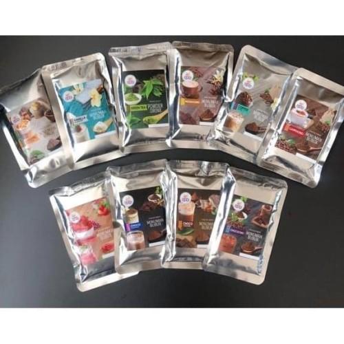 Foto Produk Paket Sample Minuman Bubuk - 20 Varian Rasa GPD dari Golden Powder Drink