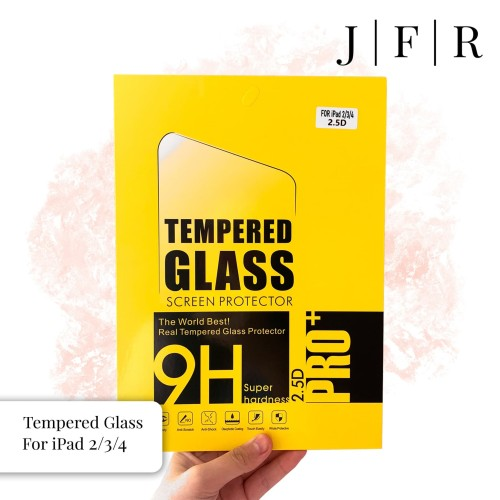 Foto Produk Tempered Glass iPad 2 3 4 Screen Protector iPad 2/3/4 Screen Guard dari JFR Official Store