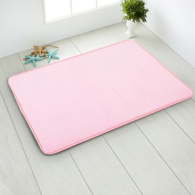 Foto Produk Keset Anti Slip Memory Foam 40x60cm - NEOFELIS PR10-005 - Pink dari Neofelis Houseware