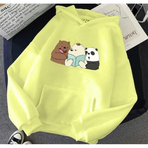 Foto Produk Vallenca Hoodie We Bare Bears Warna Kuning - S dari VALLENCA OFFICIAL