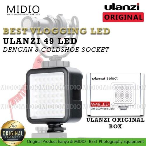 Foto Produk ULANZI Video LED Mini 49 Light dari Midio
