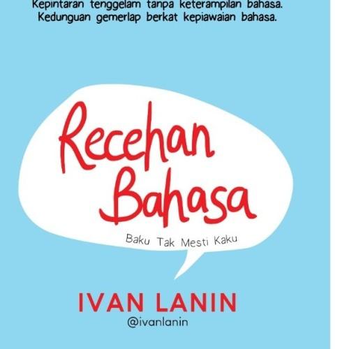 Foto Produk PreOrder Buku Recehan Bahasa dari BukuWanita