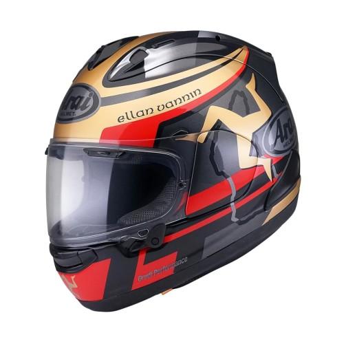 Foto Produk Arai SNI RX7X TT IOM 2020 Limited Edition Helm Full Face - Black Gold - M dari Arai Indonesia