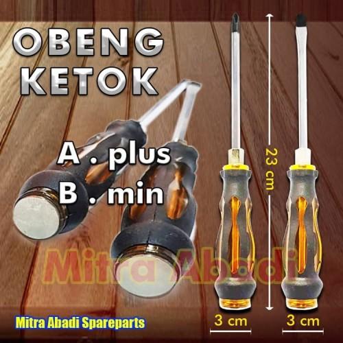 Foto Produk Impact Screwdriver Obeng Ketok Multifungsi diameter 3 cm - Plus dari Mitra Abadi Spareparts