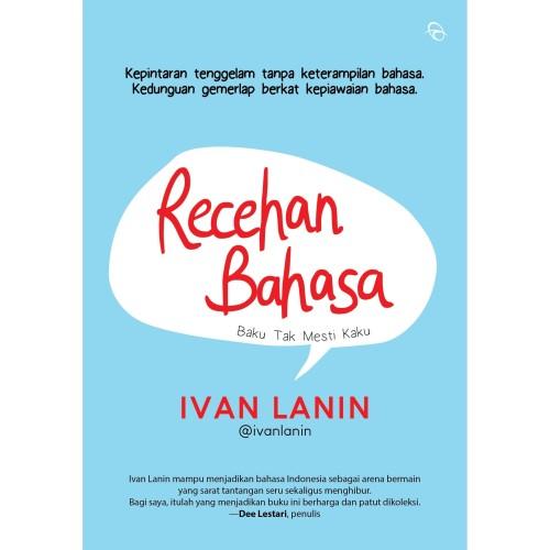 Foto Produk Recehan Bahasa - Ivan Lanin - Penerbit Qanita dari Republik Fiksi