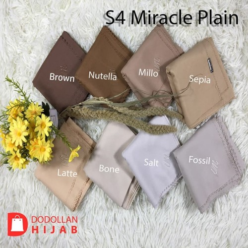 Foto Produk Jilbab Segiempat Polos laser Cut Voal Miracle Plain Umama dari ADELIA CARD PRINTER