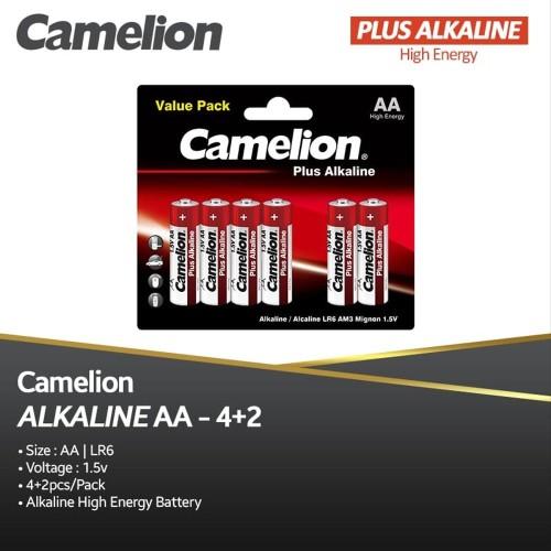 Foto Produk Camelion Baterai Alkaline A2 4 + 2 BP6 dari manekistore