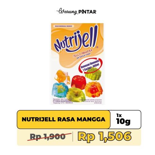 Foto Produk Nutrijell Rasa Mangga Sachet 10gr dari Warung Pintar Indonesia