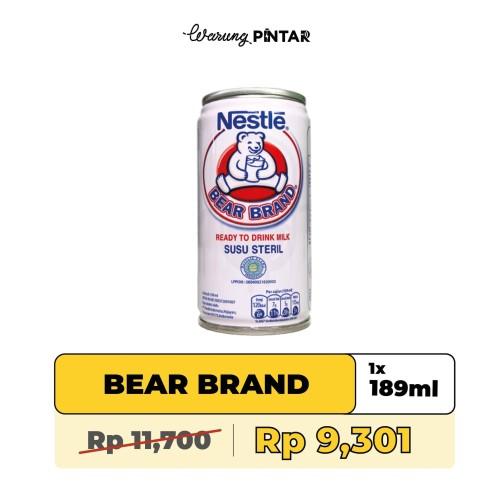 Foto Produk Bear Brand Kaleng 189ml Kaleng dari Warung Pintar Indonesia