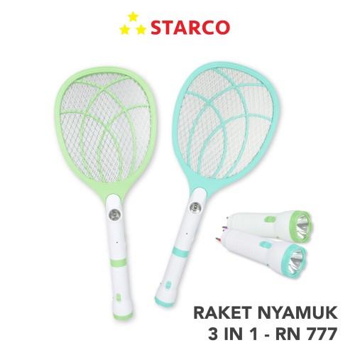 Foto Produk Starco Raket Nyamuk 3 in 1 RN-777 dari Starco Official Store