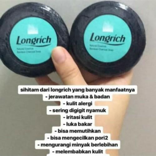 Foto Produk Sabun Charcoal Sabun Arang Bambu Longrich Batang dari nathan alkes