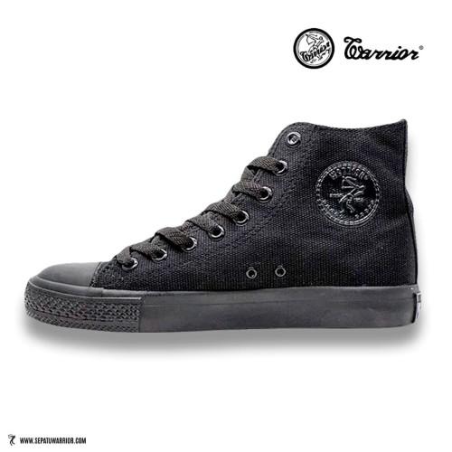 Foto Produk Sepatu Warrior Sparta HC All Black dari sepatu kodachi