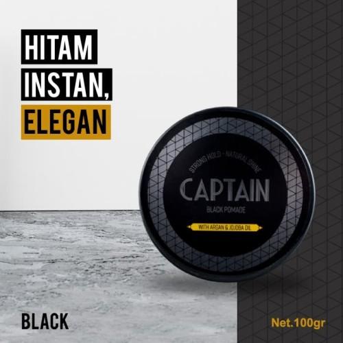 Foto Produk CAPTAIN Black Pomade dari CaptainMensCare
