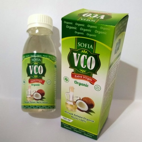 Foto Produk minyak kelapa sofia asli murni original 100 % vco virgin coconut oil dari trend center jakarta
