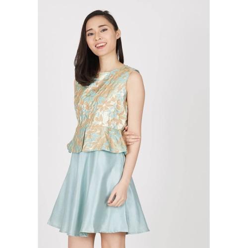 Foto Produk Stella Jacquard Dress - L dari Voerin Official