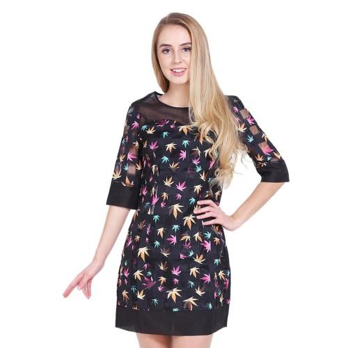 Foto Produk Charlotte Dress Hitam - S dari Voerin Official