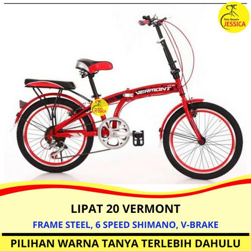 Foto Produk Sepeda Lipat 20 Vermont Shimano Murah dari Sepeda Jessica