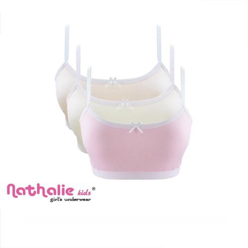 Foto Produk Nathalie Miniset Anak Wanita (1 Pack 3 Pcs) NKM 3170 - XL dari Nathalie Kids