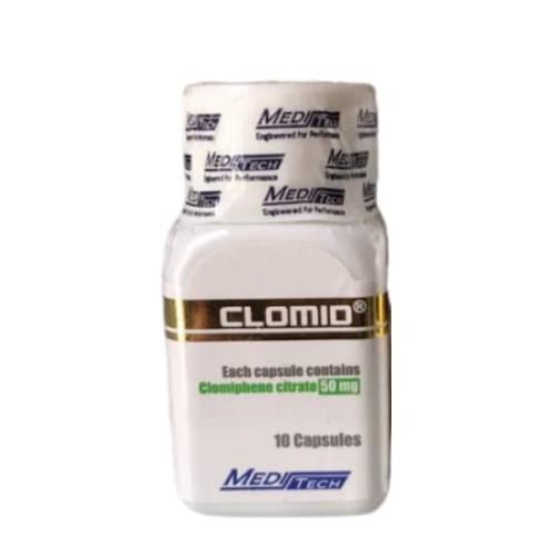 Foto Produk Clomid Meditech 10 Capsules x 50 mg Medi Tech / Clomiphene Citrate dari Raja Otot