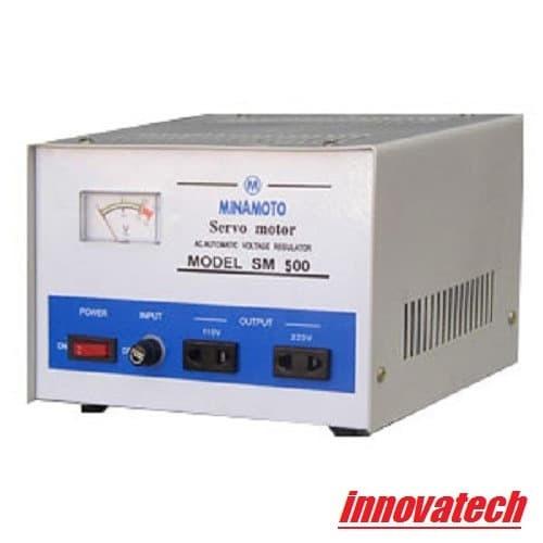 Foto Produk Minamoto ICA SM500 SM 500 500VA Stabilizer Stabiliser AVR STAVOL dari Innovatech Official