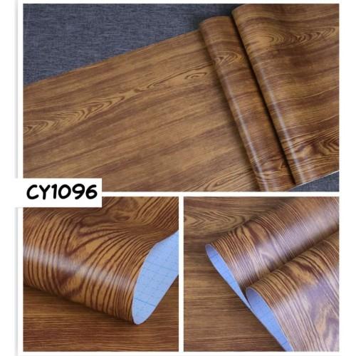 Foto Produk Home Wallpaper Sticker Dinding Kayu Polos Tua - 45cm x 10 m dari homewallpaperr