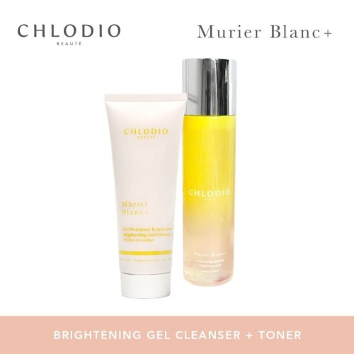 Foto Produk CHLODIO Beaute Brightening Skincare Routine Pack A Cleanser-Toner dari Chlodio Beaute Official